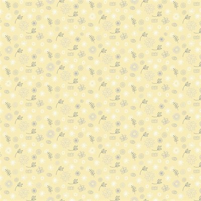 Baby Buddies By Contempo Studio For Benartex - Yellow
