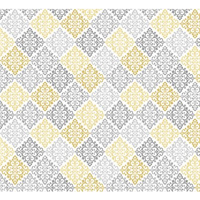 Words To Quilt By By Cherry Guidry For Benartex - Grey/Yellow