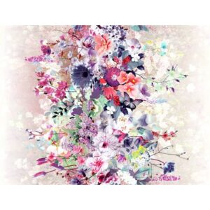 Bouquet Digiprint By Rjr Studio For Rjr Fabrics - Pink
