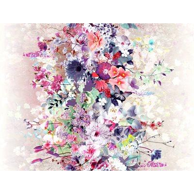Bouquet Digiprint By Rjr Studio For Rjr Fabrics - Pink
