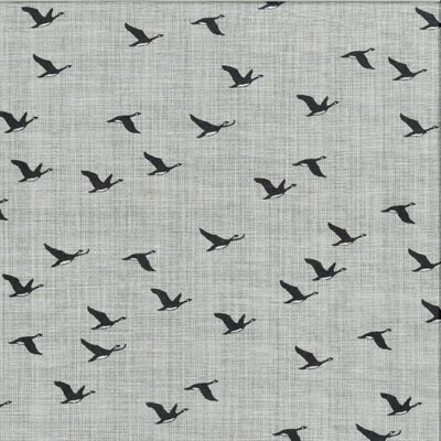 True North 2 By Kate & Birdie Paper Co. For Trendtex - Grey