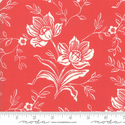 Christmas Figs Ii By Fig Tree & Co. For Moda - Pomegranate