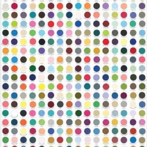 My Favorite Color Is Moda By Moda - Dots Panel - Multi