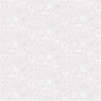 Baby Buddies By Contempo Studio For Benartex - Grey/White