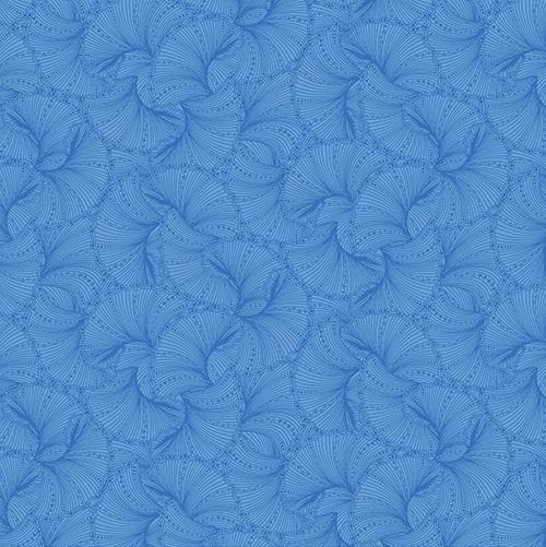 Peacock Flourish By Ann Lauer For Benartex - Blue