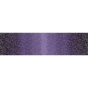 Ombre Confetti Metallic By V & Co By Moda - Aubergine