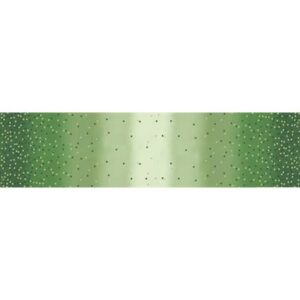 Ombre Confetti Metallic By V & Co By Moda - Evergreen