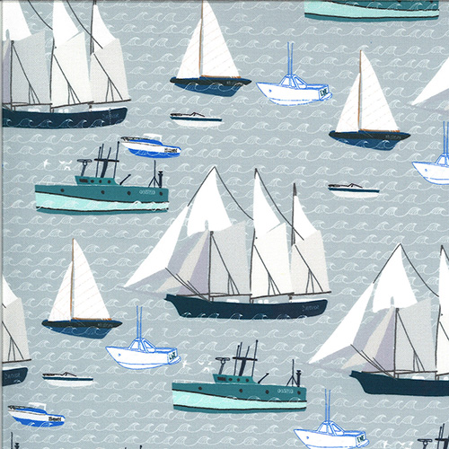 Lakeside Story Digital By Mara Penny For Moda - Lake Effect