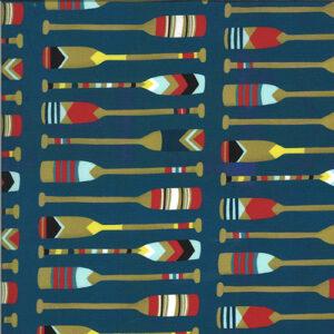 Lakeside Story Digital By Mara Penny For Moda - Sailcloth