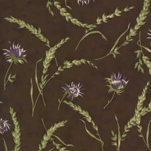 Mill Creek Garden By Jan Patek For Moda - Earth Brown