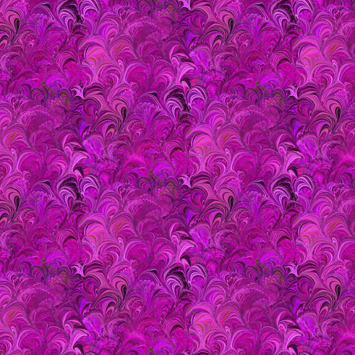 Poured Color By Paula Nadelstern For Benartex - Fuchsia