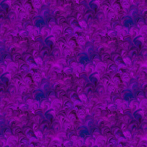 Poured Color By Paula Nadelstern For Benartex - Grape