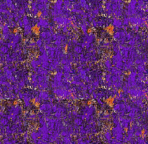 Poured Color By Paula Nadelstern For Benartex - Purple/Orange