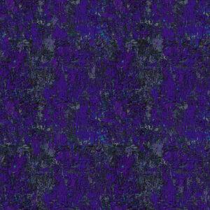 Poured Color By Paula Nadelstern For Benartex - Dark Purple