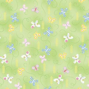 Hippity Hoppity By Kanvas Studio For Benartex - Green