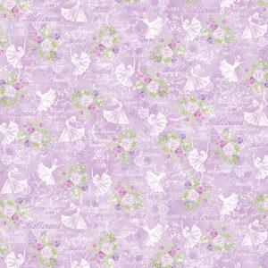 Pearl Ballet By Kanvas Studio For Benartex - Lilac