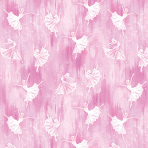 Pearl Ballet By Kanvas Studio For Benartex - Pink