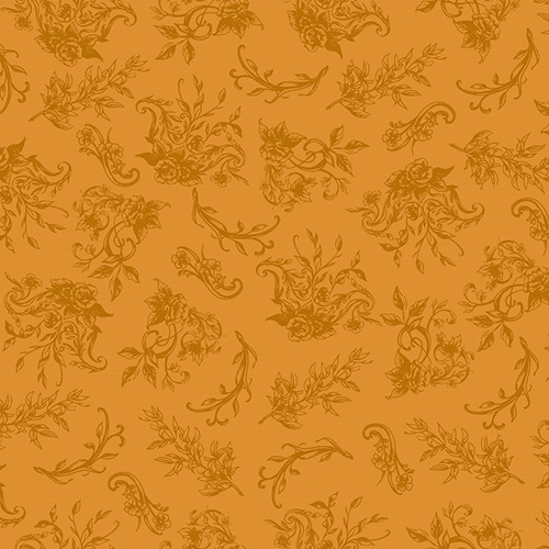 Summer Rose By Punch Studio For Rjr Fabrics - Golden