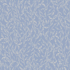 Summer Rose By Punch Studio For Rjr Fabrics - Sky Metallic
