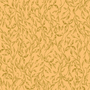 Summer Rose By Punch Studio For Rjr Fabrics - Sunflower Metallic
