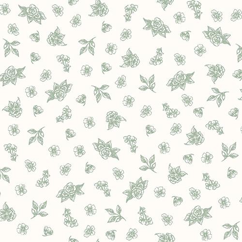 Summer Rose By Punch Studio For Rjr Fabrics - Oregano