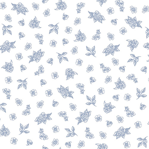 Summer Rose By Punch Studio For Rjr Fabrics - Periwinkle