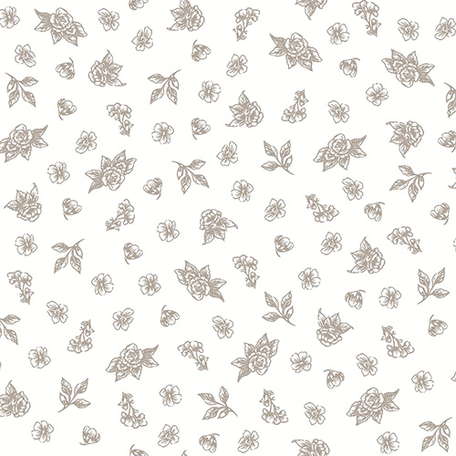 Summer Rose By Punch Studio For Rjr Fabrics - Truffle