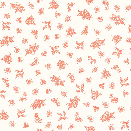Summer Rose By Punch Studio For Rjr Fabrics - Cayenne