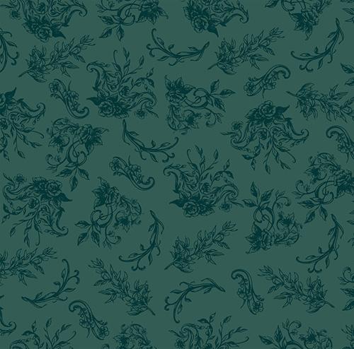Summer Rose By Punch Studio For Rjr Fabrics - Velvet