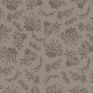 Summer Rose By Punch Studio For Rjr Fabrics - Grey