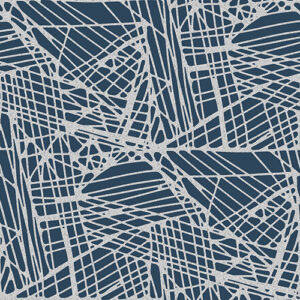 Shiny Objects Glitz And Glamour By Rjr Studio For Rjr Fabrics - Blue Note Metallic