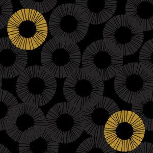 Shiny Objects Glitz And Glamour By Rjr Studio For Rjr Fabrics - Graphite Metallic