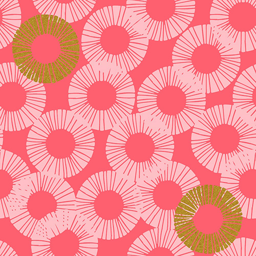 Shiny Objects Glitz And Glamour By Rjr Studio For Rjr Fabrics - Pink Paradise Metallic
