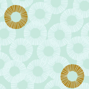 Shiny Objects Glitz And Glamour By Rjr Studio For Rjr Fabrics - Fresh Green Metallic