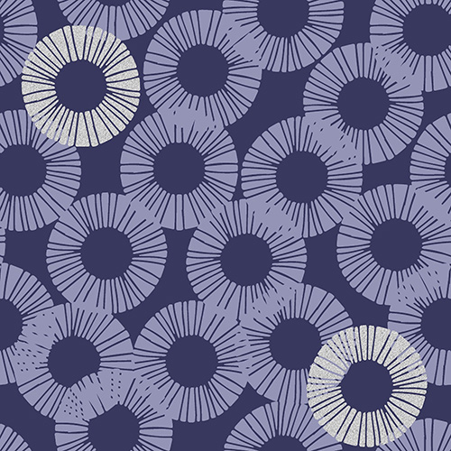 Shiny Objects Glitz And Glamour By Rjr Studio For Rjr Fabrics - Violet Stone Metallic