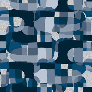 Shiny Objects Glitz And Glamour By Rjr Studio For Rjr Fabrics - Deep Ocean Metallic