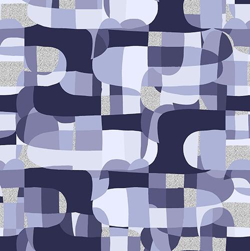 Shiny Objects Glitz And Glamour By Rjr Studio For Rjr Fabrics - Purple Metallic