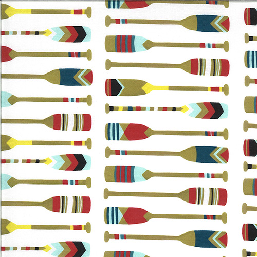 Lakeside Story Digital By Mara Penny For Moda - Foam