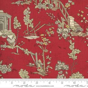Jardin De Fleurs By French General For Moda - Rouge