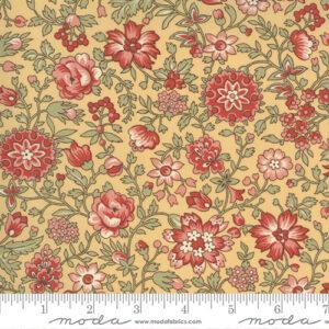 Jardin De Fleurs By French General For Moda - Saffron