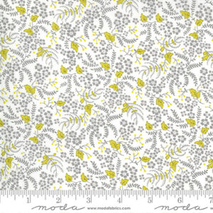 Flowers For Freya By Linzee Mccray For Moda - Cloud - Foggy