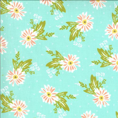 Happy Days By Sherri & Chelsi For Moda - Aqua