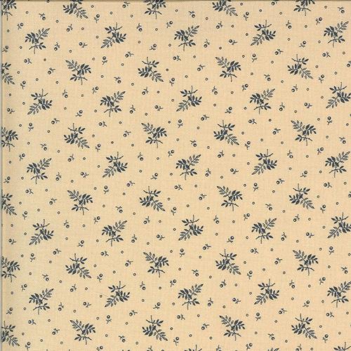Hopewell By Jo Morton For Moda - Cream - Indigo