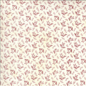 American Gathering By Primitive Gatherings For Moda - Cream - Red