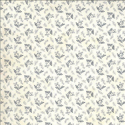 American Gathering By Primitive Gatherings For Moda - Cream - Navy