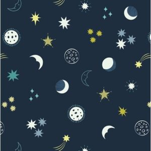 Small Things By Lewis & Irene - Dark Blue/Glow