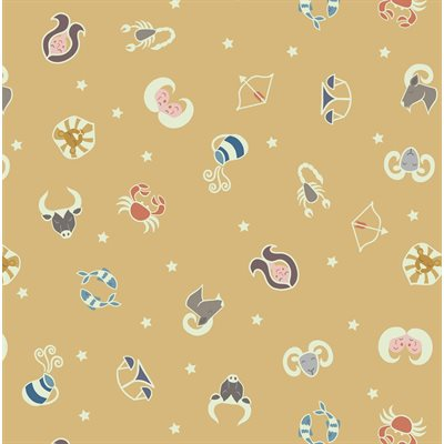 Small Things By Lewis & Irene - Mellow Ochre/Glow