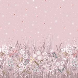 Fairy Clocks By Lewis & Irene - Digital Panel - Pink