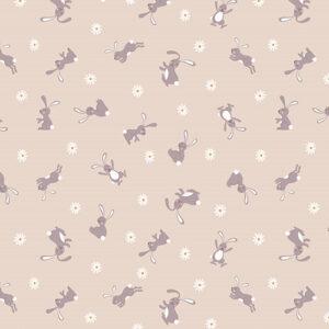 Bunny Hop By Lewis & Irene For  - Dark Cream