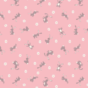 Bunny Hop By Lewis & Irene For  - Pink